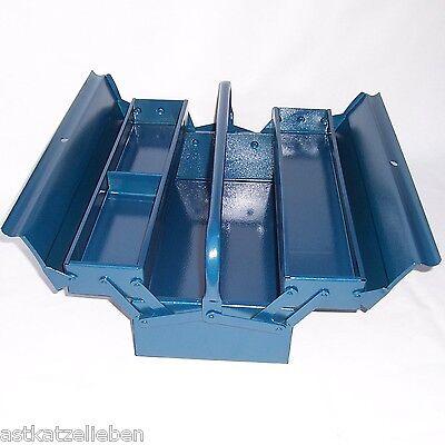 Caja de herramientas metal azul vac a ebay - Caja herramientas vacia ...