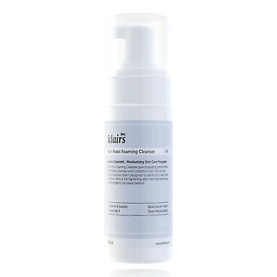 Rich Foaming Cleanser (KLAIRS - RICH MOIST FOAMING CLEANSER - 100 ml - pH-neutraler Reinigungsschaum)