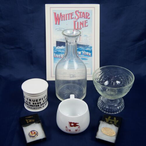 Modern White Star Line TITANIC Artifact Replica Collection