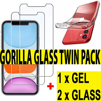 Tempered Glass Screen Protector & Case For New iPhone XR,XS,XS MAX,11,11 Pro Max