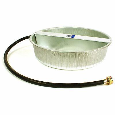 Little Giant 13-Quart Galvanized Steel Ever Full Pet Water Bowl Dish (Open Box)