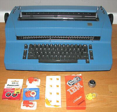 Vintage Ibm Selectric Ii Correcting Electric Typewriter Wribbontapefont Balls