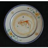 Rare Antique Chinese Famille Rose Porcelain Plate 19th Century c1820 Goldfish