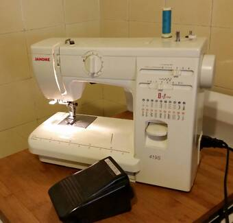 Sewing machine janome in new south wales sewing machines janome 419s sewing machine good condition fandeluxe Choice Image