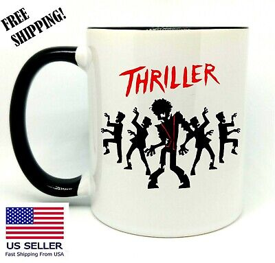 Michael Jackson Halloween Dance (Triller Dance, Michael Jackson, Halloween  Coffee/Tea Gift Mug 11 oz,)