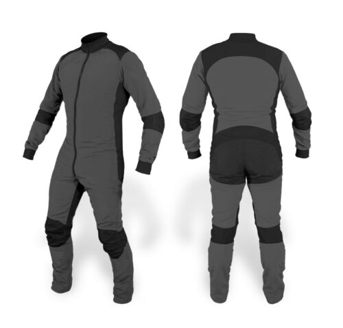 Latest Design Skydiving suit / Hot Selling Suit Dark Grey