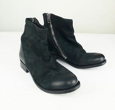 THE LAST CONSPIRACY Black Leather Women's Boots/Shoes, sz 6.5 NIB