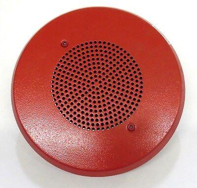 Wheelock E90 Fire Alarm Speaker Red