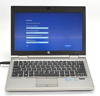 HP EliteBook 2570P Dual Core i7 2.90GHz Laptop 320GB 8GB Windows 10 #JM137
