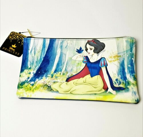 Loungefly Disney Princess Snow White Watercolor Cosmetic Makeup Bag