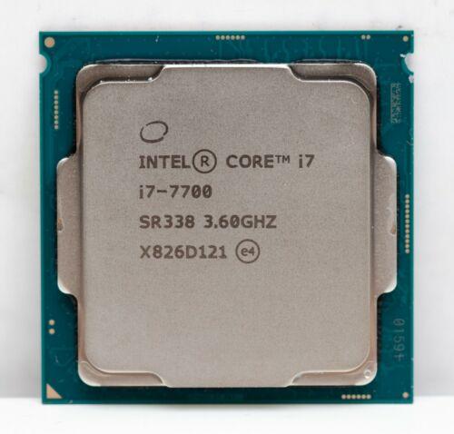 Intel Core i7-7700 Kaby Lake Quad-Core 3.6 GHz LGA 1151 65W Desktop Processor