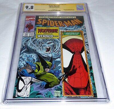 Spider-Man #11 CGC SS 9.8 Signature Autograph STAN LEE Wolverine Wendigo Battle