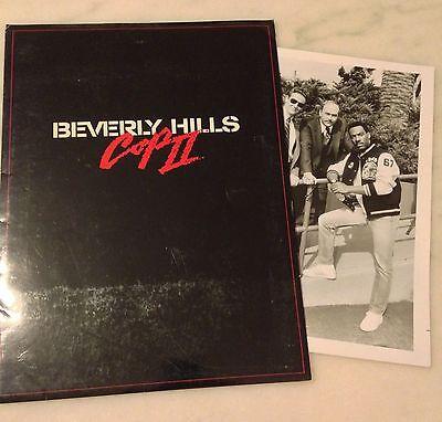 BEVERLY HILLS COP II (1987) Press Kit Folder, Photos; Eddie Murphy; BONUS Photo