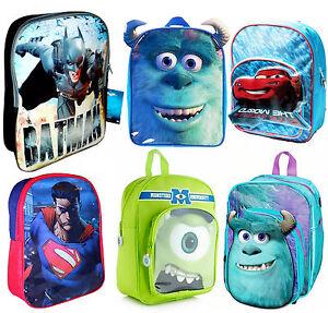 Kids-Character-School-Backpack-Rucksack-Bag-Brand-New
