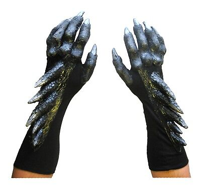 Black Dragon Claws Hands Adult Halloween Costume - Halloween Claws