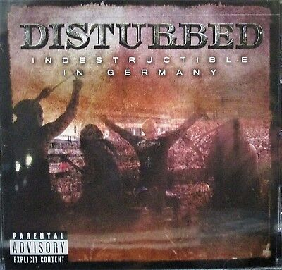Disturbed  Indestructible In Germany New  Dvd  Metal Rock  Live Concert