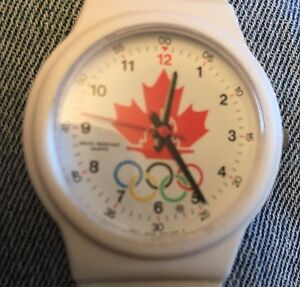 Officially Licensed, Limited Edition, Olympic Watch. Moose Jaw Regina Area image 2