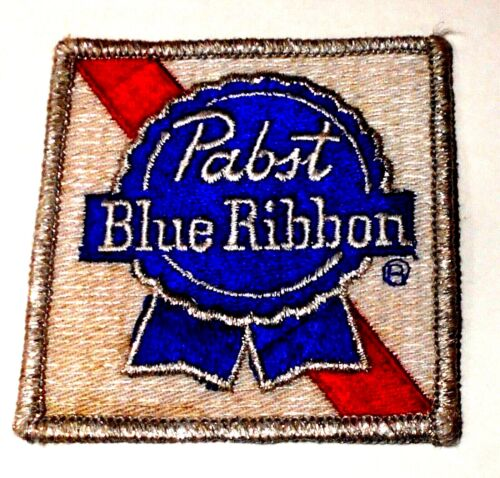 "Pabst Beer  Patch 3"" inches Lot Vintage Iron on"
