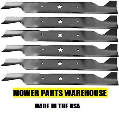 6 Repl Ayp Sears Craftsman Husqvarna Mower Blades 46  Deck 405380 532405380