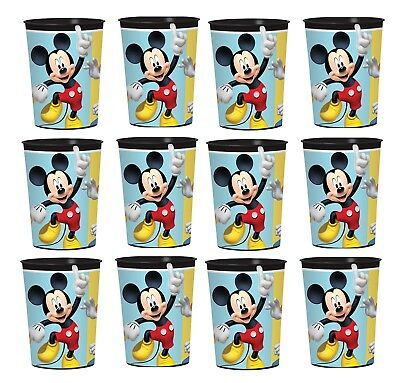Mickey Mouse & Friends Lot of 12 16oz Party Supply Reusable Plastic Cup ](Mickey Mouse Plastic Cups)
