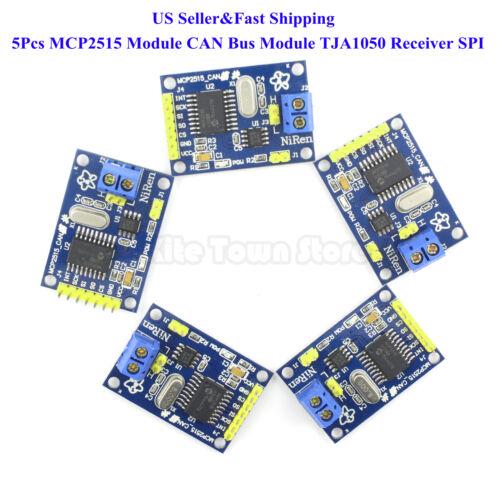 5Pcs MCP2515 Module CAN Bus Module TJA1050 Receiver SPI For Arduino US