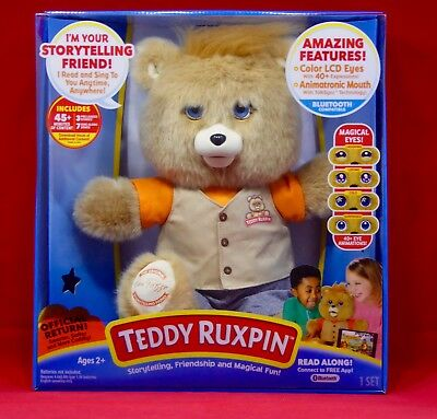 2017 Teddy Ruxpin Official Return - Magical Bear NEW Out of stock on Amazon