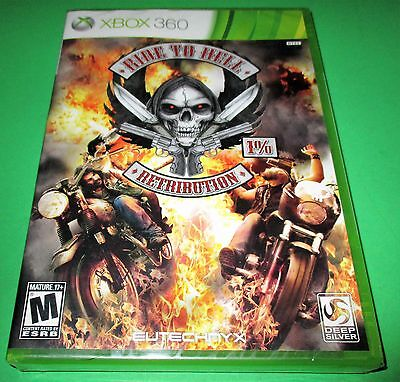Ride to Hell: Retribution Microsoft Xbox 360 *Factory Sealed *Free Shipping!