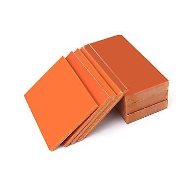 Us Stock 2pcs Red Bakelite Phenolic Resin Flat Plate Sheet Pcb 5 X 100 X 150mm