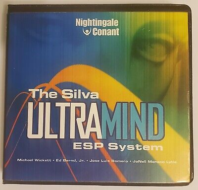 Silva ULTRAMIND ESP System (10 CD Set) Workbook on CD
