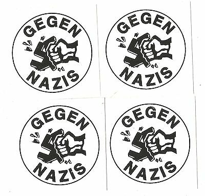 100 Gegen Nazis Aufkleber stickers mix Antifa Anti Nazi AFA Punk GNWP ARA 161