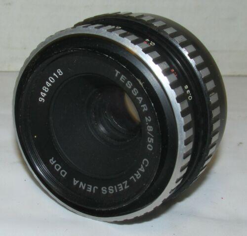 Vintage Tessar f2.8/50mm Carl Zeiss Jena M42 Threaded Screw Mount LQQK!