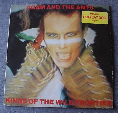 Adam and the ants, kings of the wild frontier, LP - 33 tours + (Adam Ant Kings Of The Wild Frontier Tour)