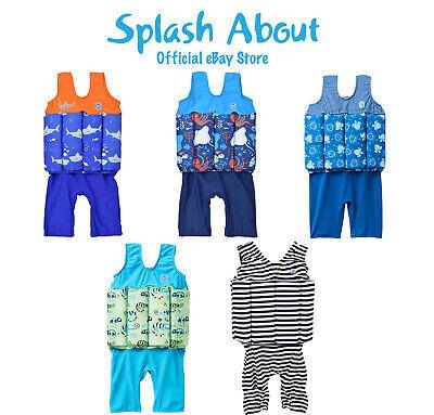 Splash About Boys Short John Floatsuits - Float Suit