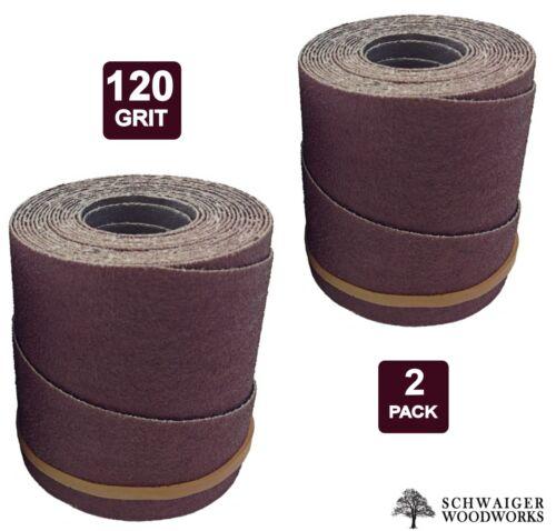 Drum Sander Sanding Wraps/Rolls, 120g for SuperMax 19-38, 2 Pack