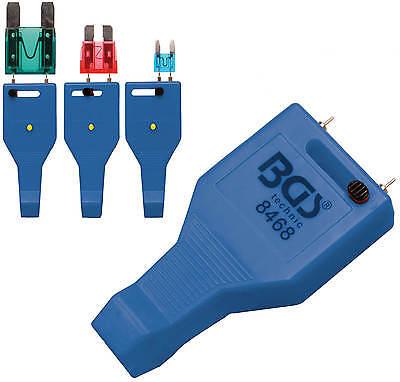 LED Sicherungstester Kfz Sicherungsprüfer Sicherungen mit Sicherungszieher BGS
