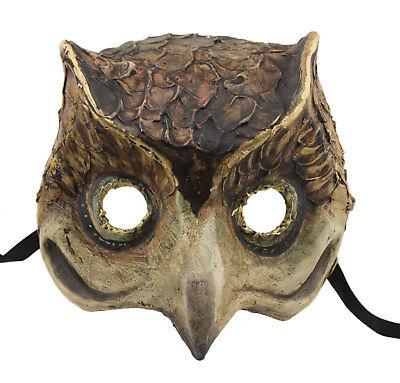 Mask Venice Owl paper mache Carnival costume 2417 VG9B