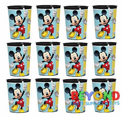 Mickey Mouse on the Go High Quality Reusable Birthday Party Plastic Cups](Mickey Mouse Plastic Cups)