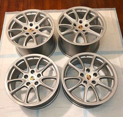 "OEM Porsche 911 997 GT3 GT2 Carrera C2 C4 19"" Wheels Rims - 8.5x19 / 12x19 - #1"