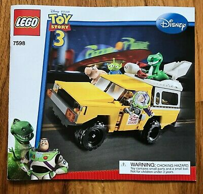 Lego 7598 Disney Toy Story 3 Pizza Planet Truck Rescue - No Minifigs/Box