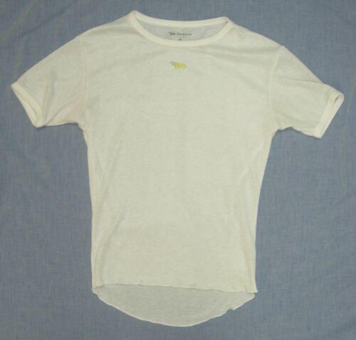 DeFeet UnDLite Short Sleeve shirt, Unisex size small, White