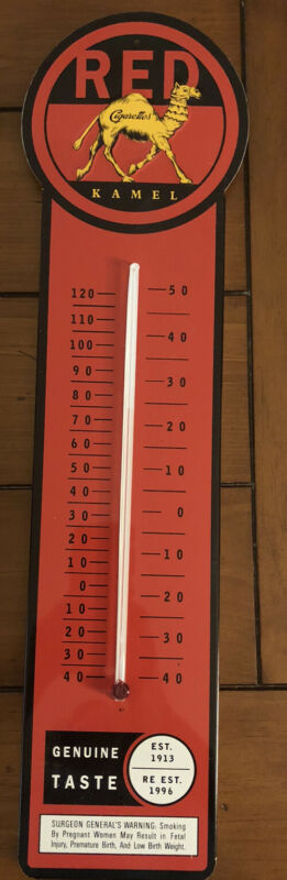 Kamel Red Thermometer NOS in Original Box