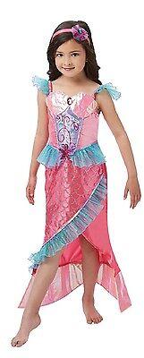 Kleine Meerjungfrau Halloween-kostüm (Mädchen Deluxe kleine Meerjungfrau Kostüm Kleid Outfit büchertag Woche Halloween)