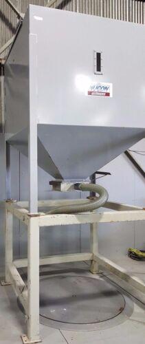 Nucon Wittmann Surge Hopper 100 cu. ft. Capacity