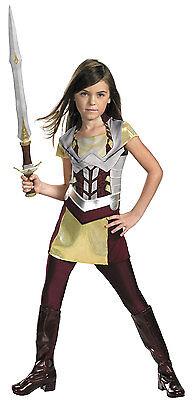 Sif Kostüme (Thor Movie Classic Sif Child Costume Size 7-8 Marvel Comics)