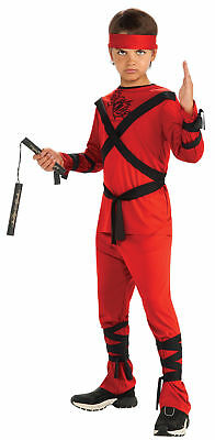 Red Ninja Child Costume - Red Ninja Costumes