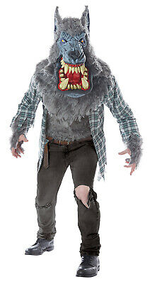 Monster Wolf Man Beast Adult Men Costume - Monster Costume Men