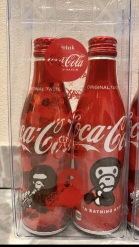 A BATHING APE Coca Cola Bottle×2 NEW