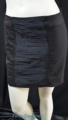 GAP stretch SKIRT straight mini above knee pencil shabby ribbon bandage SZ 0 NEW