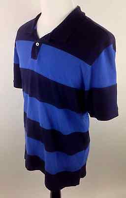 Pacific Knit Shirt (CLUB ROOM MEN'S POLO RUGBY KNIT SHIRT size XL PACIFIC BLUE NAVY STRIPED)