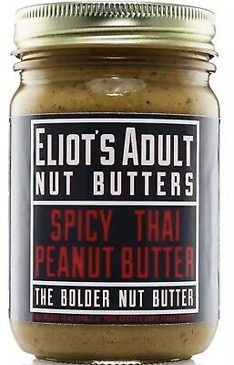 Eliot's Adult Nut Butters | Spicy Thai Peanut Butter The Bolder But Butter 12 Oz ()
